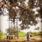 Finishing the works for the #borehole in #Digala #SouthSudan #Africa