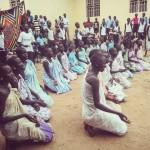 Preghiera in danza, gruppo giovani - youthgroup prayer dance Holytrinity parish Juba